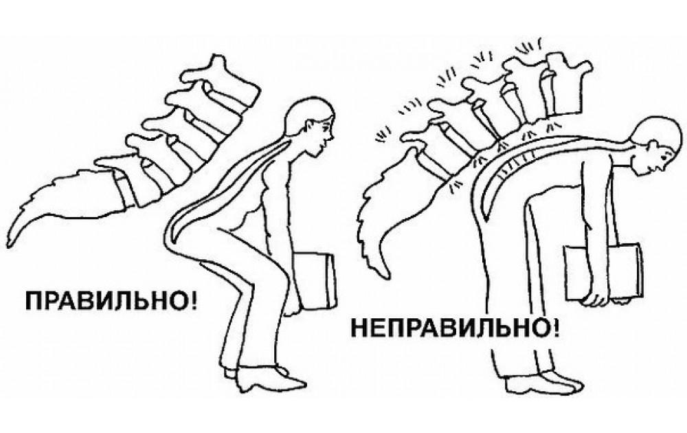 Техника поднятия тяжестей