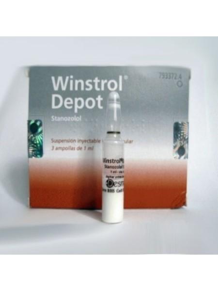 Winstrol Depot - Винстрол 1мл/50мг