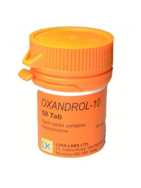 Оксандролон - Oxandrol-10 50таб/10мг