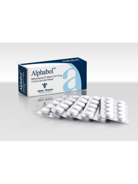 Alphabol (Метандиенон 10МГ) 50 таб по 10 мг