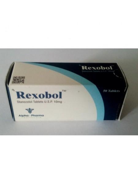 Rexobol (Станозолол) 50таб/10мг