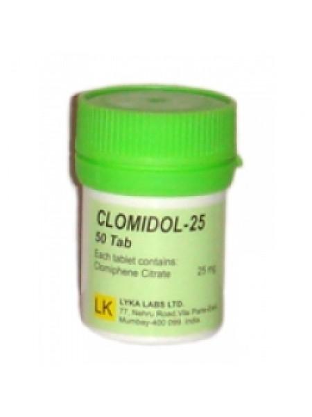 Кломидол-25  50 таб 25 мг