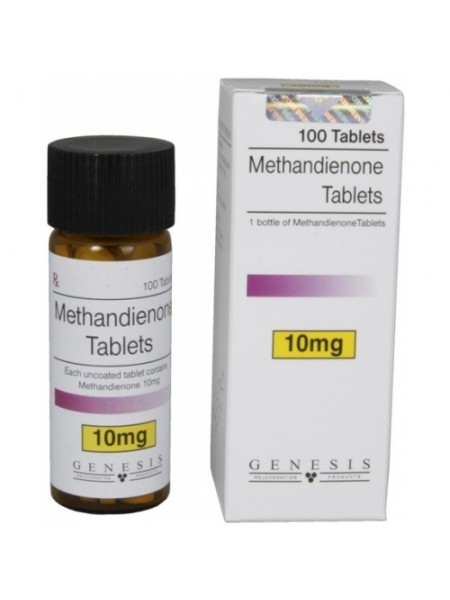 Methandienone Genesis 100 таб./10мг.