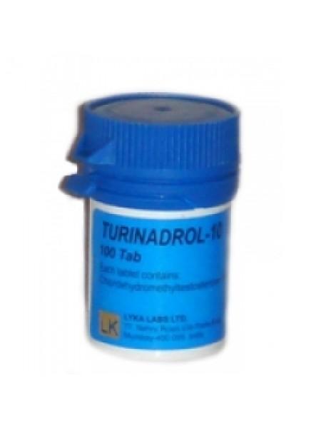 Туринабол Turinadrol  10мг/таб 100 таб